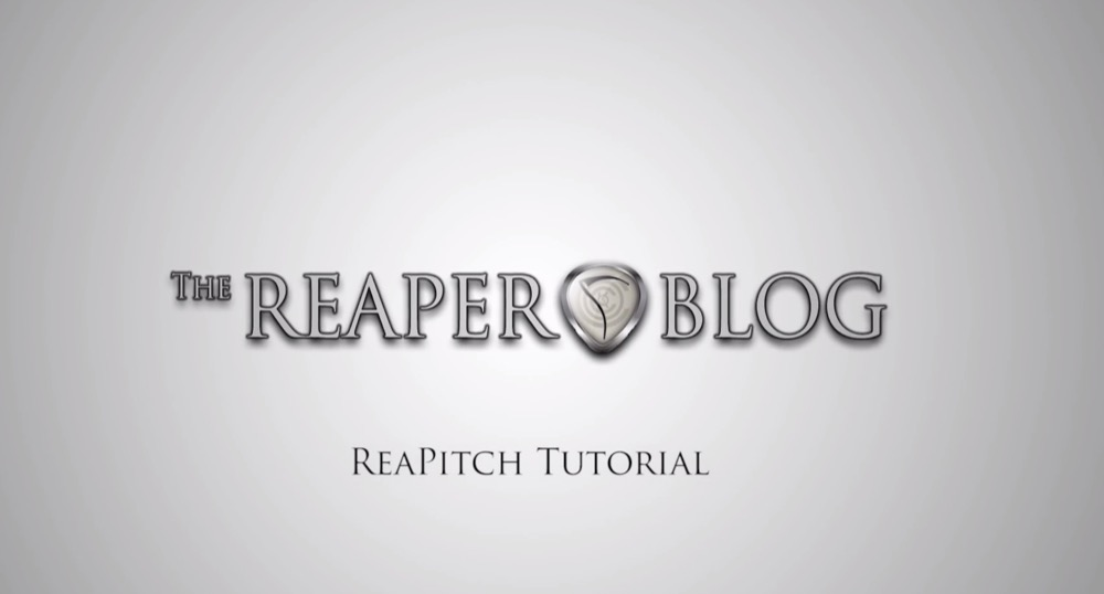 video reapitch tutorial the reaper blog. Black Bedroom Furniture Sets. Home Design Ideas
