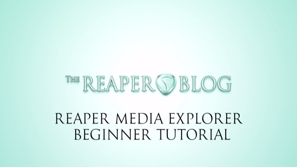 reaper 101 the reaper blog rh reaperblog net Beginners Guide to Essential Oils Chart Beginners Guide to Investing