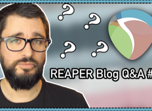 reaper how to delete takes loop recording
