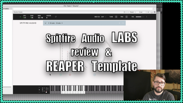 LABS Free VSTi from Spitfire Audio - REAPER Template Download |