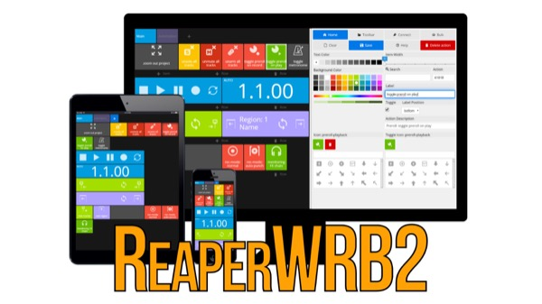 ReaperWRB 2 - Web Remote Builder |